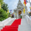 Entrance ladder of Wat Phra That Cho Hae (the Royal Temple), Phr — Stock Photo #37291423