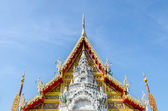 Tympanum of Wat Phra That Su Thon Mongkhon Khiri Samakkhi — Stock Photo