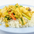 Stir Fried Squid with curry — Stock Photo #39414371