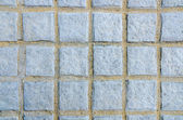 Gray squared floor concrete block background — Stock Photo