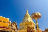 Pagoda w wat phra że doi suthep — Zdjęcie stockowe
