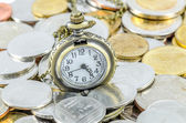 Time spent on making money (Time is Money) — Stock Photo