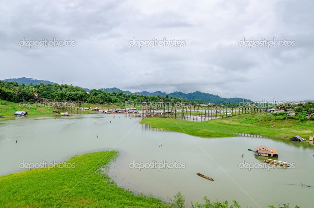 Sangkhla Buri (Kanchanaburi) Thailand  city pictures gallery : ... in Sangkhla Buri, Kanchanaburi Province , Thailand Stock Image
