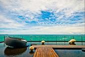 HORIZON SEA VIEW — Stock Photo