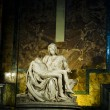 Photo: Famous masterpiece - Pietby Michelangelo, in St. Peter's Basil