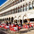 Open air restaurant in Venice, Italy — Stock Photo #32286401
