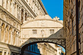 Venice, Bridge of sighs. — Stock Photo