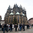 St. Vitus Cathedral in Prague — Stock Photo #32726713