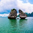 Stock Photo: Ha Long Bay Vietnam