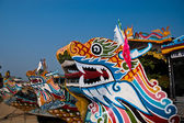 Dragon boat, Vietnam — Stock Photo