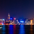 Hong Kong night — Stock Photo
