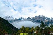Jade Dragon Snow Mountain in China — Stock Photo