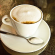 Cappuccino or latte coffee — Stockfoto #35577665