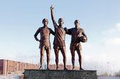 Manchester, Anglie: stadionu old trafford — Stock fotografie