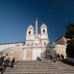 ������, ������: Spanish steps in Rome Italy