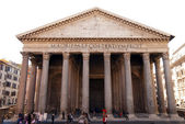 View of Pantheon in the morning. Rome. Italy. — Stock Photo