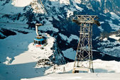 The mount titlis in Swiss  — Stock Photo