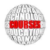 Courses — Stock Photo