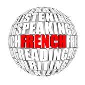 French — Zdjęcie stockowe