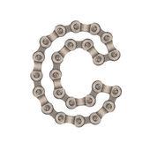 Chain alphabet — Stock Photo