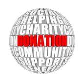 Donation. — Stock fotografie
