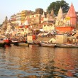 Varanasi river — Stock Photo
