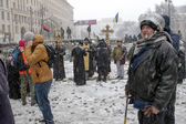 KIEV, UKRAINE - 21 JANUARY — Stock Photo