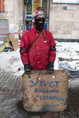 KIEV, UKRAINE - January 23, 2014 — Stock Photo