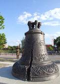 Bronze bell from Citadel Alba Carolina square — Stock Photo