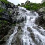 Waterfall Capra river on Transfagarasan Road — Stock Photo #51002753