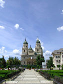 Metropolitan Church of Moldova and Bucovina — Stock Photo