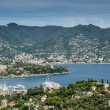Panorama of Santa Margherita Ligure, Italy — Stock Photo