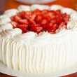 Delicious strawberry cake — Stock Photo #31417905
