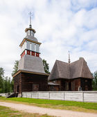 Wooden church unesco world heritage site — Stockfoto