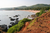 Om beach india karnataka — Stock Photo