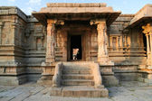 Hampi ruins building india — Stock Photo