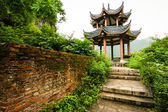 Chinese pavilion in nature — Stock Photo