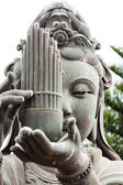 Buddhistic statue portrait — Stock Photo