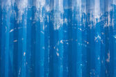 Scratched blue metallic texture — Stock Photo
