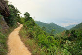 Pathway in hong kong mountains — Stock Photo