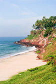 Cliffs at Varkala beach — Stock Photo
