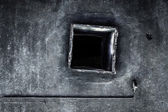 Abandoned air conditioning duct — Stock Photo