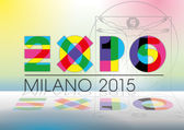 Expo 2015 — Stock Vector