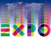 Expo 2015 — Stock Vector