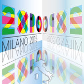 Expo 2015 italy — Stock Vector