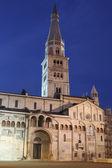 Modena, dome and ghirlandina — Stock Photo
