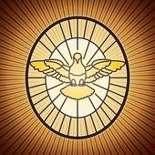 Holy spirit saint peter rome — ストックベクタ