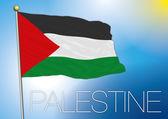 Bandeira palestina palestinese — Vetorial Stock