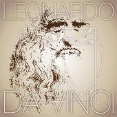 Leonardo da vinci — Stock Vector
