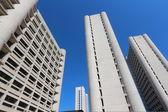 Skyscraper fiera district bologna — Stock Photo